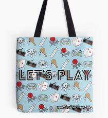 Let's Play Tote Bag Tote Bag