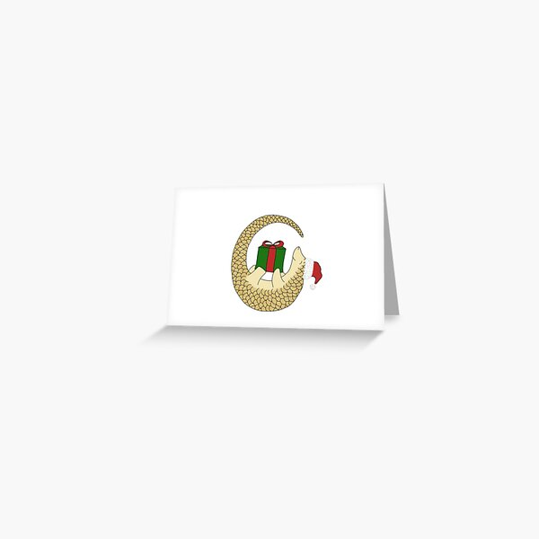Pipisin's Christmas gift Greeting Card
