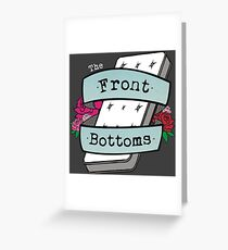 Twin Sized Mattress Greeting Card