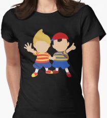 Ness & Lucas (Black) - Super Smash Bros. [Requested] T-Shirt