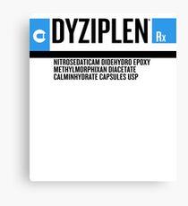 Dyziplen Canvas Print