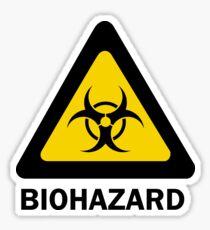 Biohazard beware Sticker
