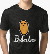 Potato (White) Tri-blend T-Shirt