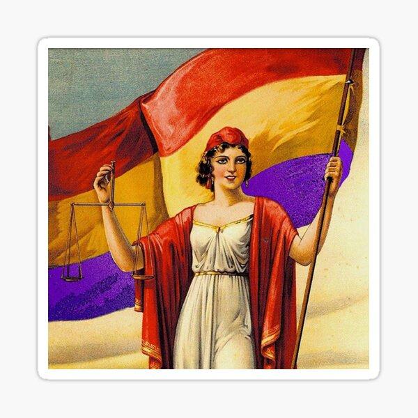 República Española Pegatina