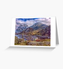 Llyn Ogwen Greeting Card