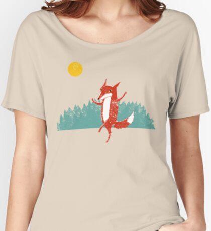 Fox dance  Women's Relaxed Fit T-Shirt