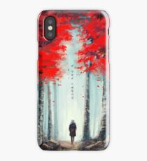 화양연화 - Dead Leaves iPhone Case/Skin