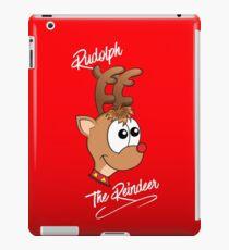 Rudolph das Rentier iPad-Hülle & Klebefolie