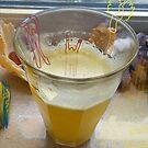 Golden Drink by Hekla Hekla