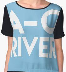 A-O River! Chiffon Top