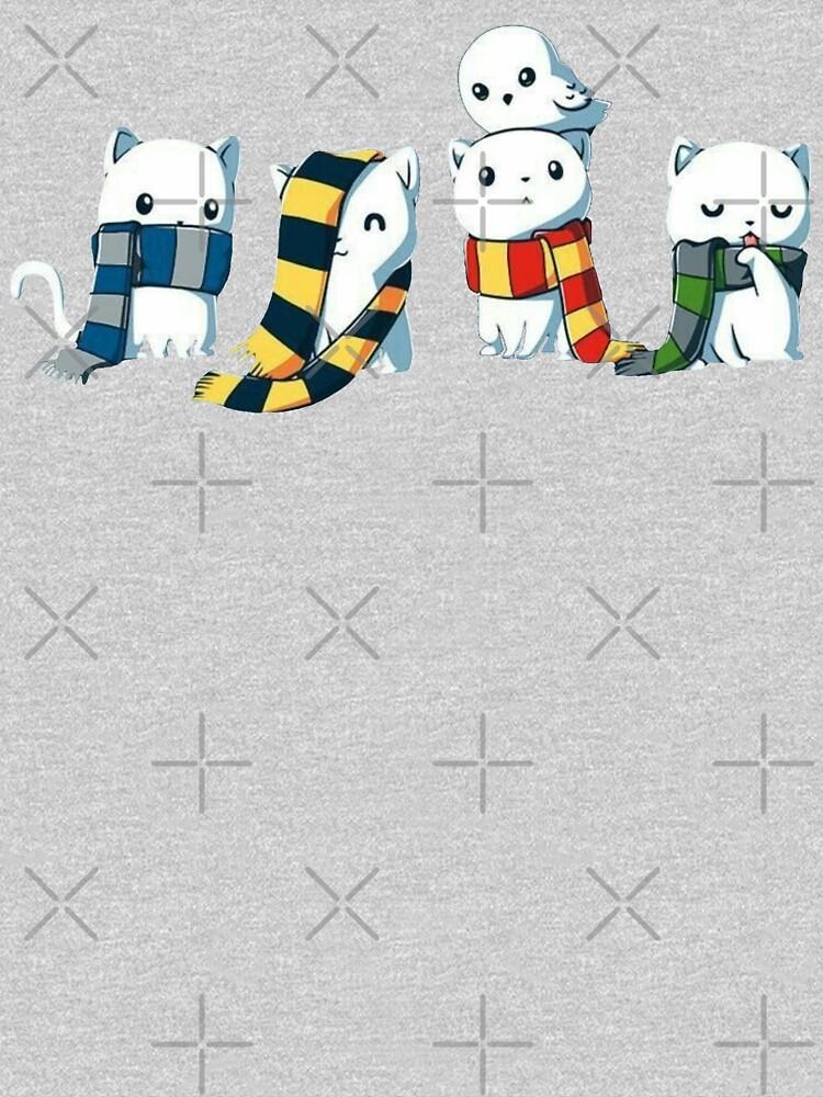 4 magical kitties by Bigyork