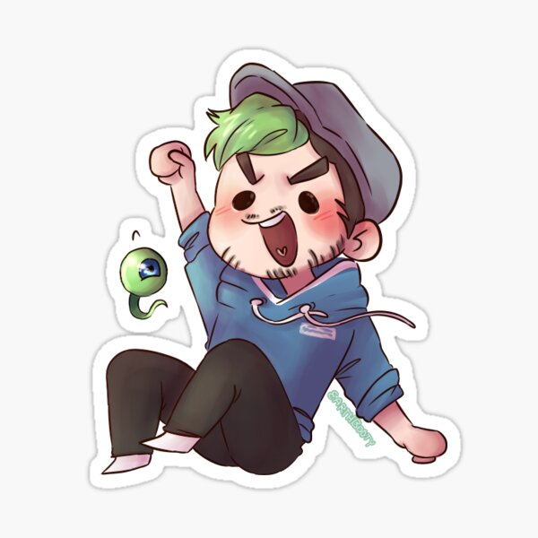 [Jacksepticeye] Sticker Sticker