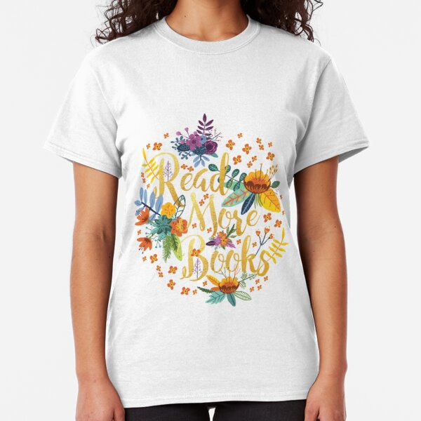 3D Printed T-Shirts Abstract Watercolor Golden and Black Flowers Floral Elements