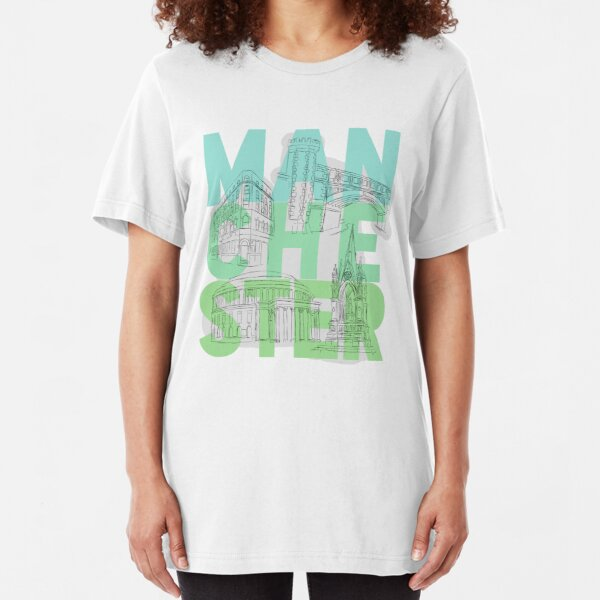 Manchester, UK Slim Fit T-Shirt
