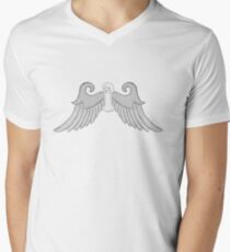 Angel Blue Men's V-Neck T-Shirt