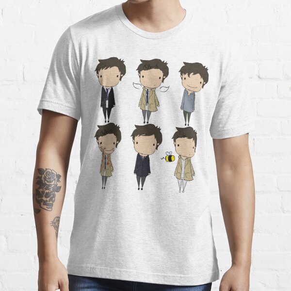 The Many Faces of Castiel Essential T-Shirt