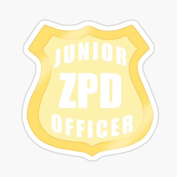 Junior ZPD Officer  Sticker