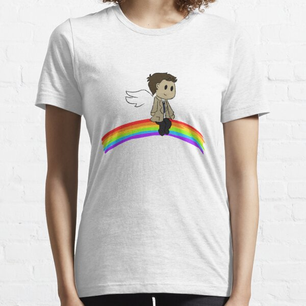 Rainbow Cas Essential T-Shirt