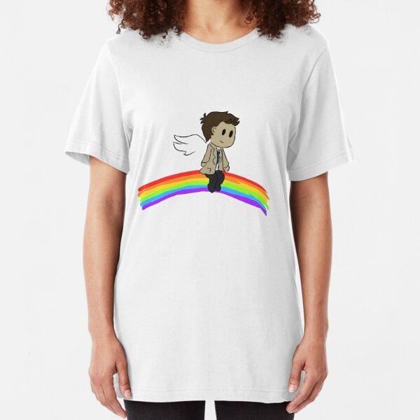 Rainbow Cas Slim Fit T-Shirt