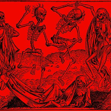Dance of Death / Dance of macabre - red by Bela-Manson