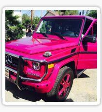 Pink G Wagon Sticker