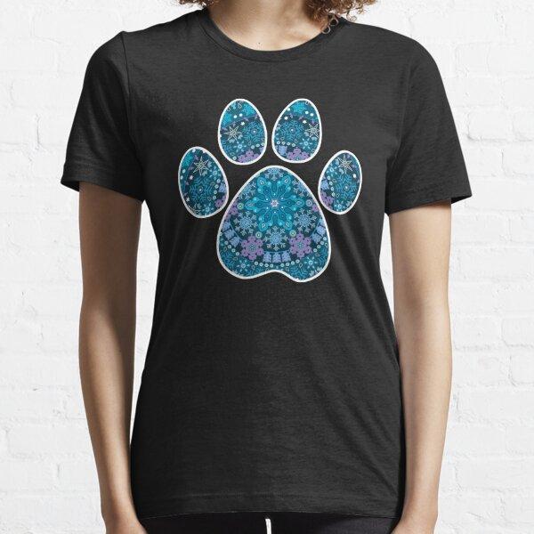 Dog Paw Print, Bohemian Snowflakes Essential T-Shirt