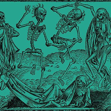 Dance of Death / Dance of macabre - green by Bela-Manson