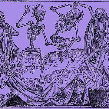 Dance of Death / Dance of macabre - violet by Bela-Manson