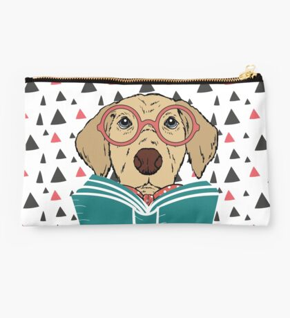 Reading Dog Studio Pouch