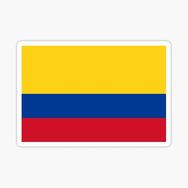 COLOMBIA Pegatina