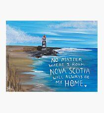 Nova Scotia Lighthouse Photographic Print