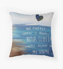 Nova Scotia Home Throw Pillow