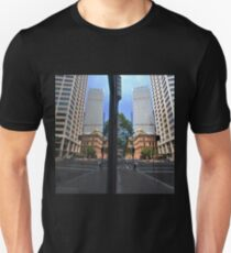 Bridge Street Reflections, Sydney, Australia 2013 Unisex T-Shirt