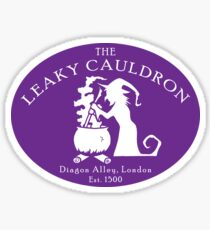The Leaky Cauldron Sticker