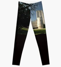 Donjon, Medieval City, Loches, France, Europe 2012 Leggings