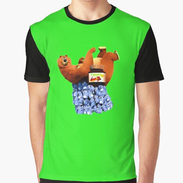 Grizzy und Lemmings leckere Schokolade Grafik T-Shirt