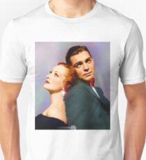 Colorized Joan Crawford & Clark Gable in 1931 Possessed T-Shirt