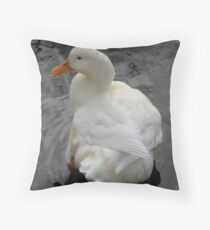 Beautiful Duck Throw Pillow
