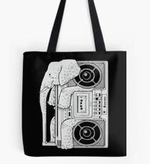 Record Store Day : Elephant Loves Music Style Tote Bag