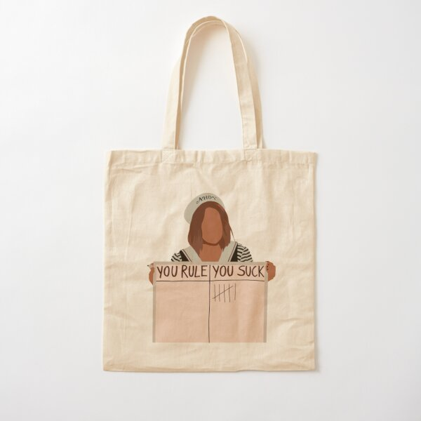 Robin stranger things~you rule you suck Cotton Tote Bag