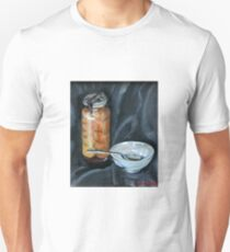 preserved apricots  with bowl and spoon T-Shirt