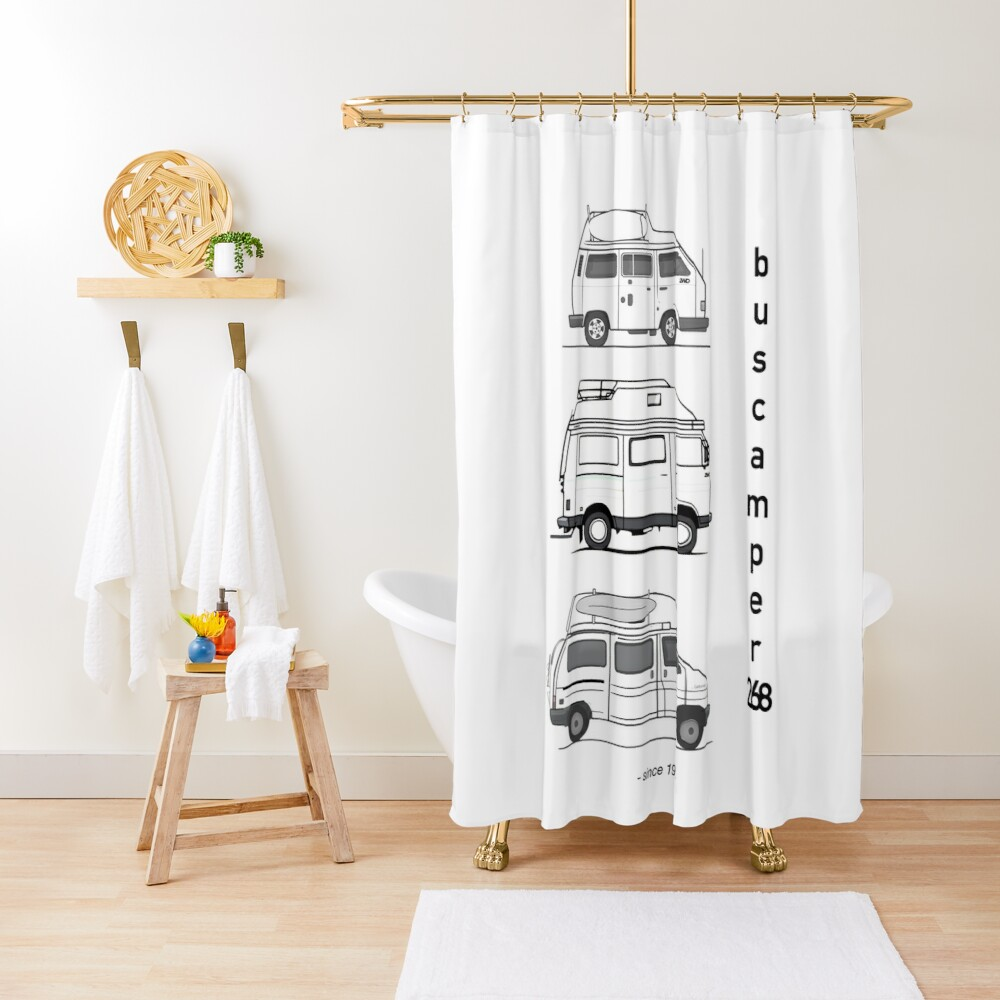 Just the campervans Shower Curtain