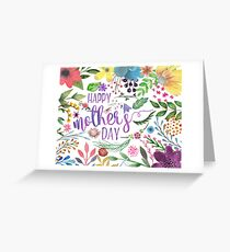 Happy Mothers Day (Cards, Prints, Mugs) Greeting Card