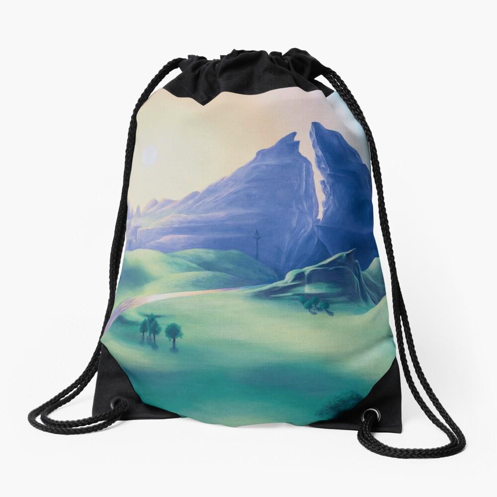 Dueling Peaks Drawstring Bag