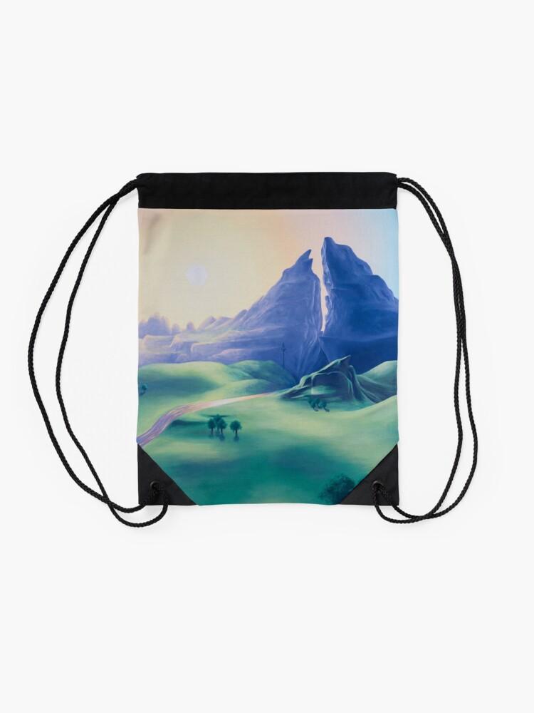 Alternate view of Dueling Peaks Drawstring Bag