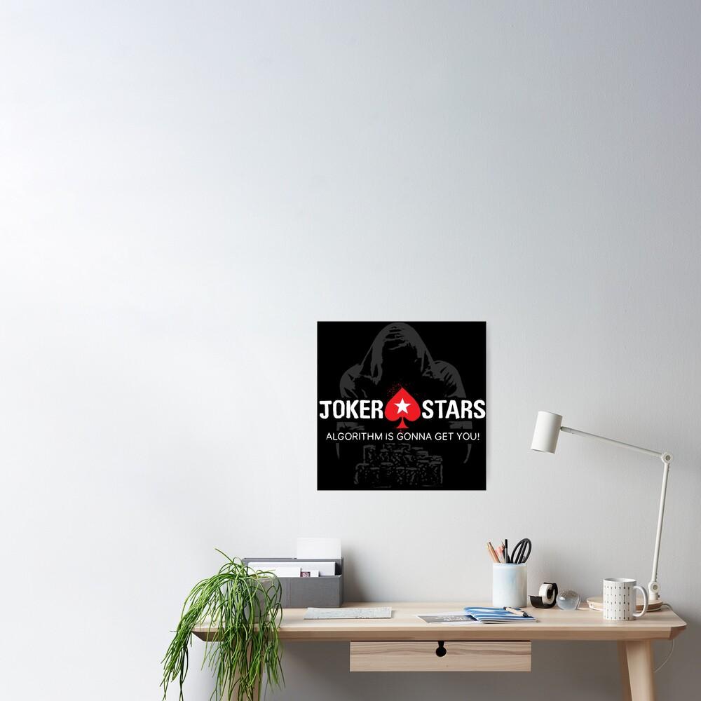 Joker Stars Algorithm is Gonna Get You! Poster