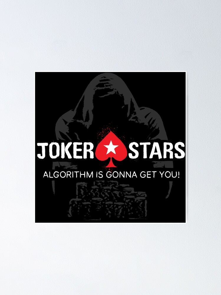 Alternate view of Joker Stars Algorithm is Gonna Get You! Poster