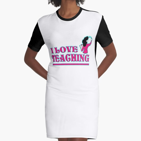 UJFISHER DESIGNS Graphic T-Shirt Dress