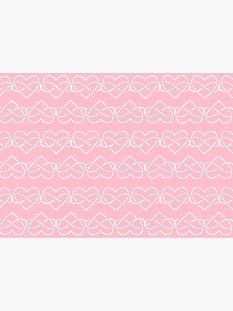 Polyamory Infinity Hearts Chain (Pink) by polyphiliashop