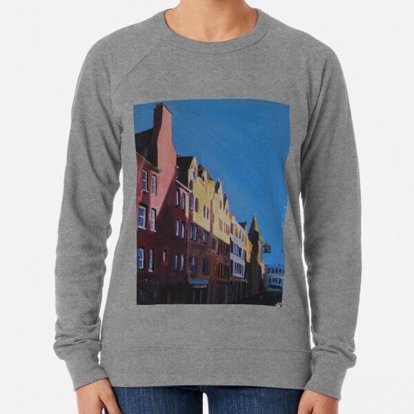 Edinburgh, The Foot Of The Royal Mile Lightweight Sweatshirt